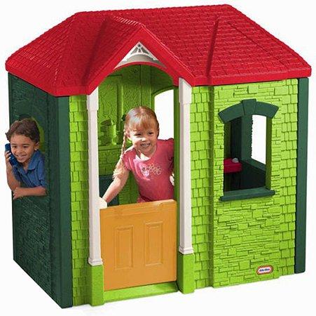 Домик Little Tikes пластиковый Зеленый