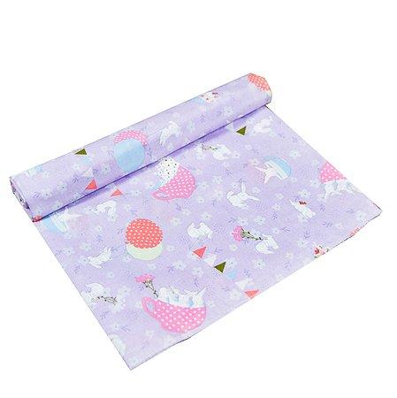Пеленка AMARO BABY Праздник Фиолетовый