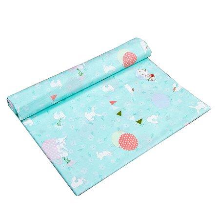 Пеленка AMARO BABY Праздник Мята