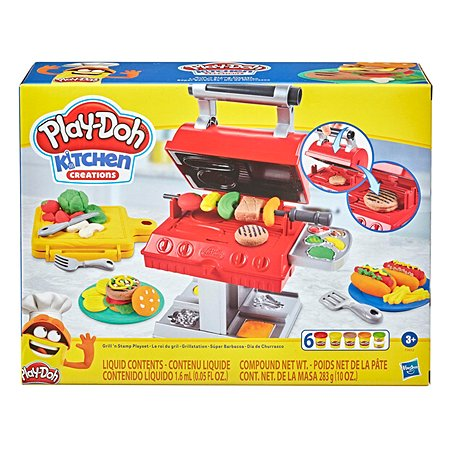 Набор игровой Play-Doh Гриль барбекю F06525L0