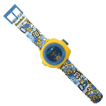 Часы Minions наручные с проектором