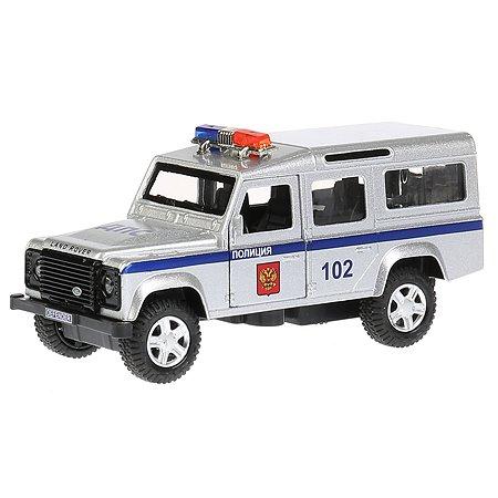 Машина Технопарк Land Rover Defender Полиция инерционная 271522