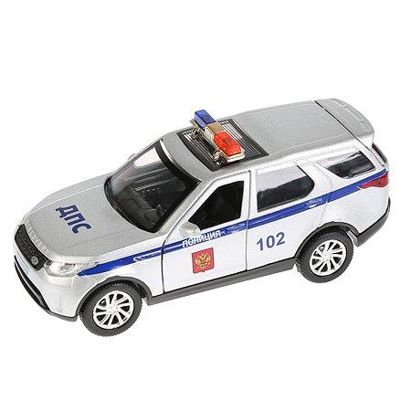 Машина Технопарк Land Rover Discovery Полиция инерционная 271527