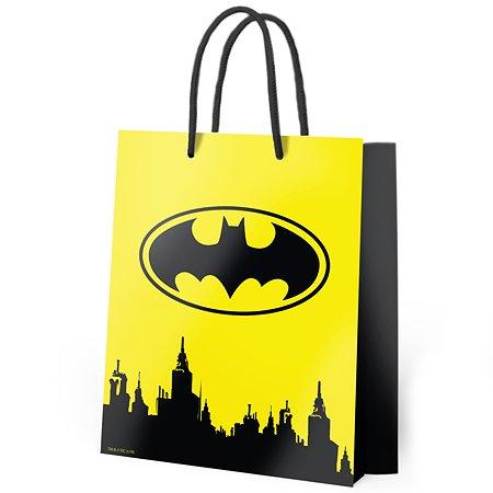 Пакет подарочный ND PLAY Batman №3 25*35*10см 286629
