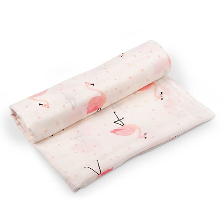 Пеленка AMARO BABY Розовый силуэт ABDM-56R-F