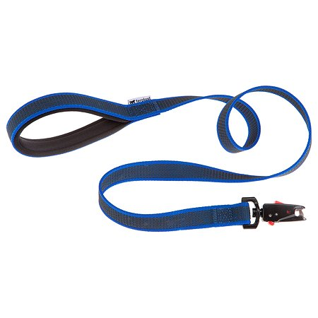 Поводок для собак Ferplast Daytona Gummy Matic G15/120 Синий