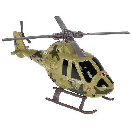 Вертолет Технопарк военный инерционный 271870