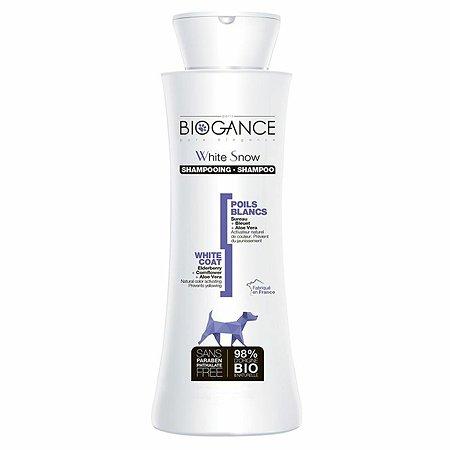 Шампунь для собак Biogance белых окрасов 250мл