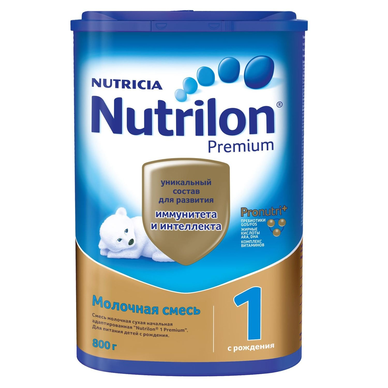 Смесь молочная Nutrilon Premium 1 800г с 0месяцев