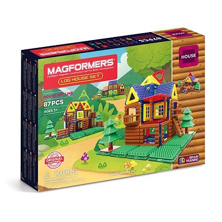 Конструктор магнитный Magformers Log House Set 705004