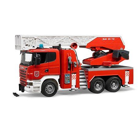 Пожарная машина Bruder Scania 03-590
