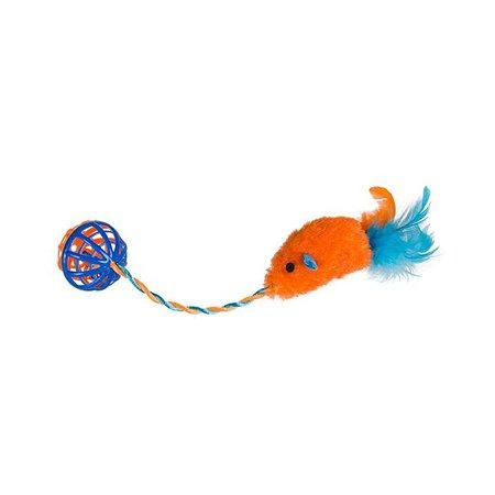 Игрушка для кошек Uniglodis оранжевый Uniglodis
