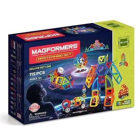 Конструктор магнитный Magformers Mastermind Set 115P 710012