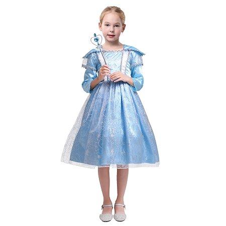 Костюм карнавальный EVERGREAT Принцесса Синий DN-004