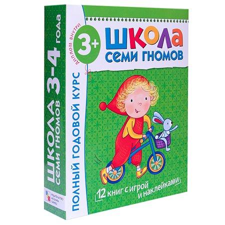 Полный годовой курс Мозаика-Синтез 12 книг(ШСГ 3-4 года)