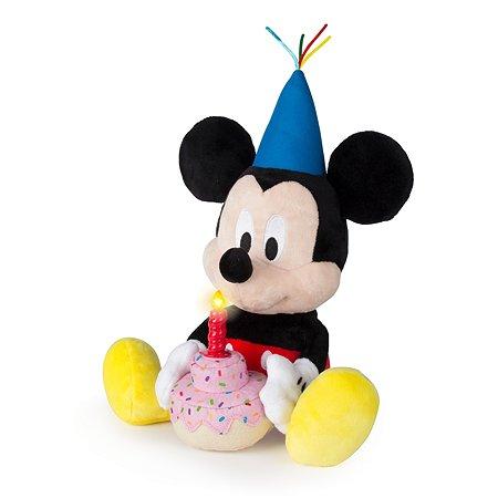 Игрушка мягкая Disney День рождения Микки 184244