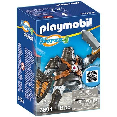 Конструктор Playmobil Супер4. Черный Колосс