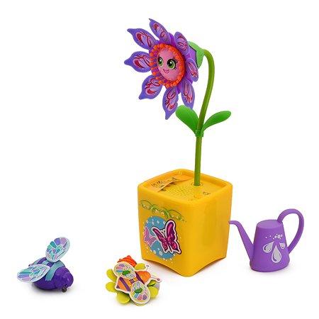 Волшебный цветок Silverlit с ожерельем  и волшебным жучком