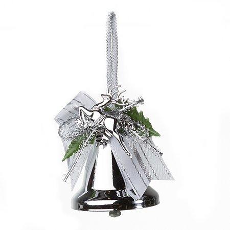 Украшение новогоднее Кристмас колокольчики в ассортименте