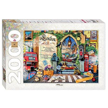 Пазл Step Puzzle Лондон Жизнь - открытая книга 2000 элементов 84033