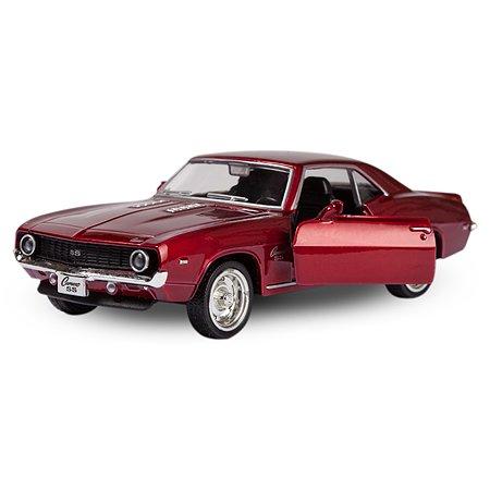 Машина Mobicaro 1969 Chevrolet Camaro 1:32 Красный металлик