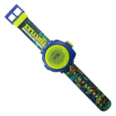 Часы Ninja Turtles(Черепашки Ниндзя) наручные с проектором NT34373