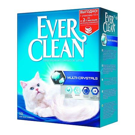 Наполнитель для кошек EVER CLEAN Multi Crystals комкующийся 10л 59680