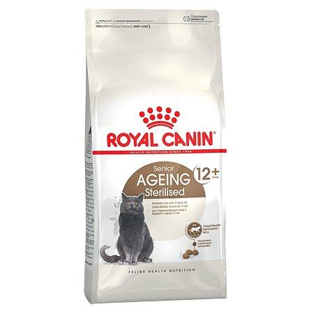 Корм сухой для кошек ROYAL CANIN Ageing Sterilised 4кг 12+ стерилизованных пожилых