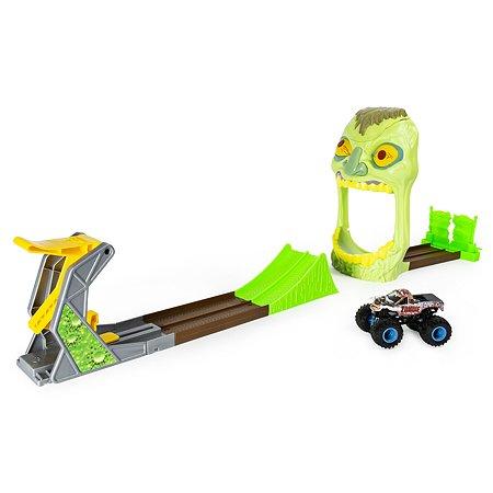 Набор игровой Monster Jam Зона Зомби с машинкой 1:64 Zombie 6053298