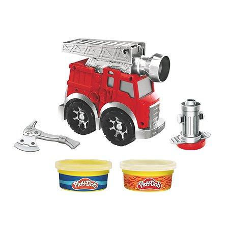 Набор игровой Play-Doh Пожарная машина мини F06495L0