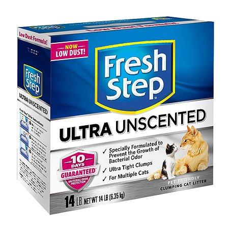 Наполнитель для кошек FRESH STEP Clumping комкующийся 6.35кг
