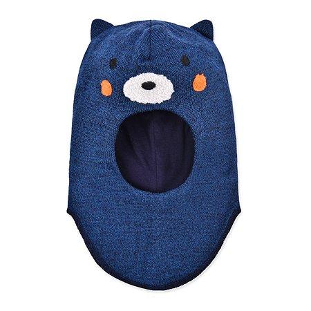 Шапка-шлем Lassie синяя