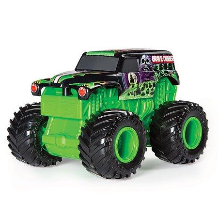 Машинка Monster Jam Звуки мотора 1:43 Grave Digger 6053250