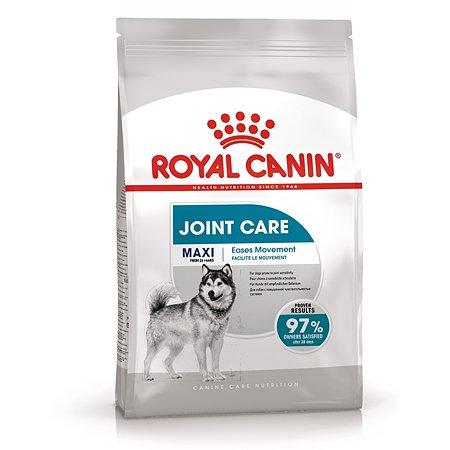 Корм для собак ROYAL CANIN Maxi Joint Care крупных пород с повышенной чувствительностью суставов 3кг