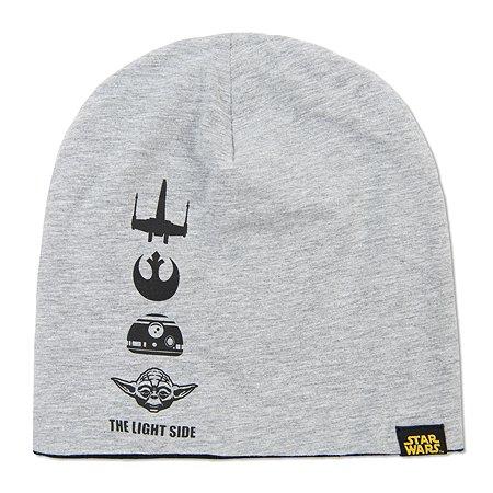 Шапка Star Wars серая