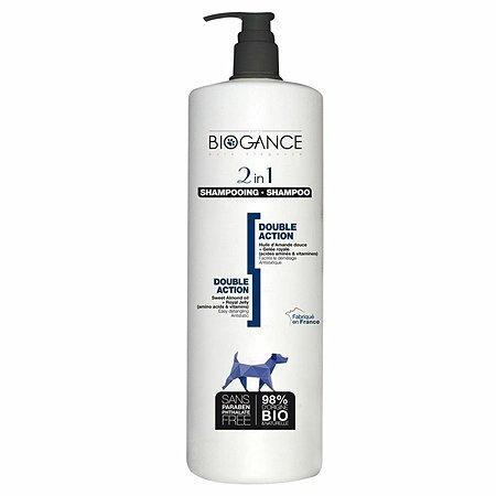 Шампунь для животных Biogance 2в1 1л
