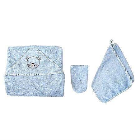 Комплект махровый Baby Nice Голубой