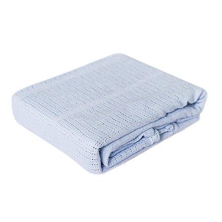 Одеяло Baby Nice вязаное Голубое Da40612