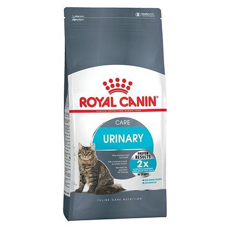 Корм сухой для кошек ROYAL CANIN Urinary Care 4кг для профилактики мочекаменной болезни