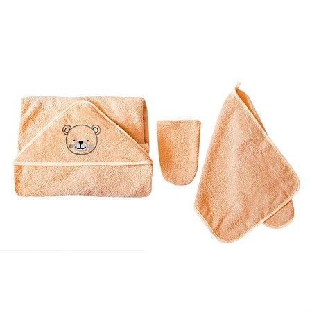 Комплект махровый Baby Nice Персиковый