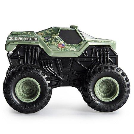 Машинка Monster Jam Звуки мотора 1:43 Soldier Fortune 6044990/20103739