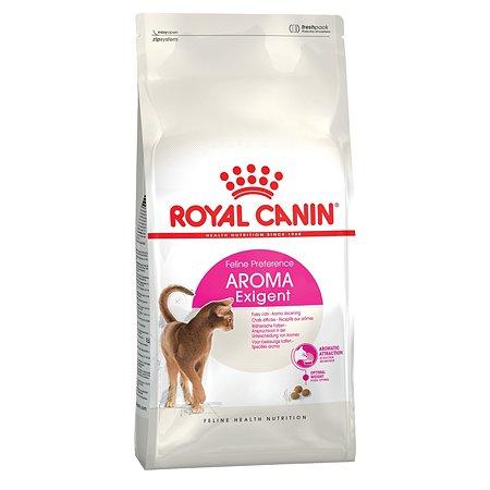 Корм сухой для кошек ROYAL CANIN Aroma Exigent 4кг привередливых к аромату продукта