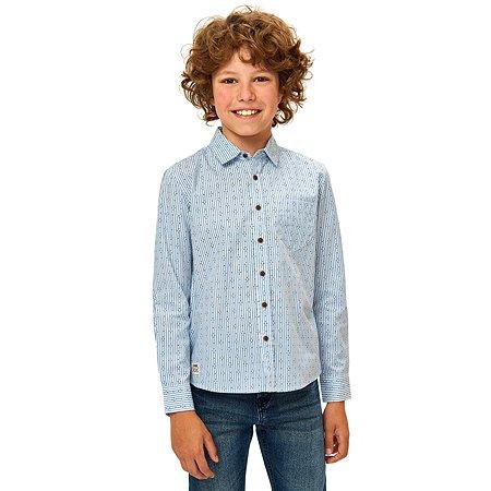 Рубашка Futurino Fashion голубая