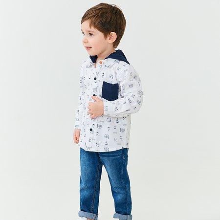 Рубашка Baby Go Trend белая