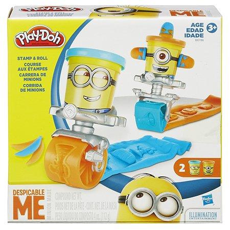 Игровой набор Play-Doh Гонки миньонов