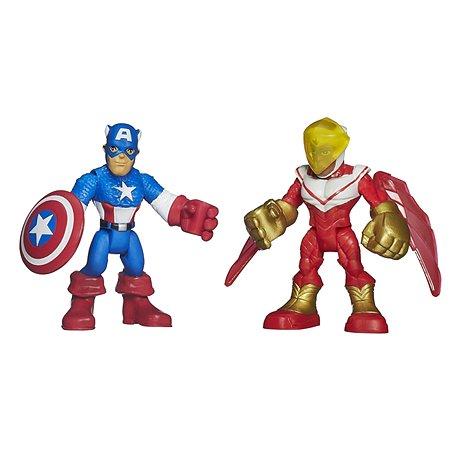 Набор Playskool CAPTAIN AMERICA из 2 фигурок