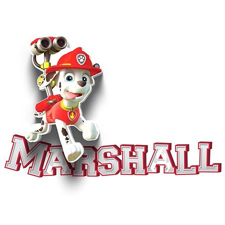 Светильник 3D 3DLightFx Paw Patrol Marshall Mini