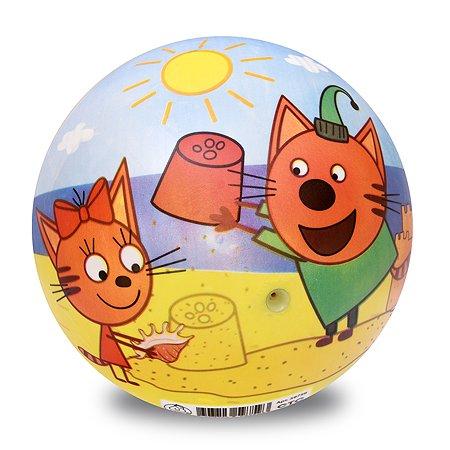 Мяч ЯиГрушка Три кота 15см 59759ЯиГ