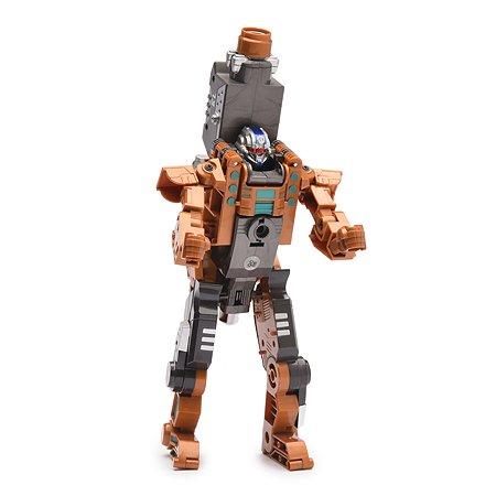 Пистолет-робот 2 в 1 Devik Toys Flasher с 6 мягкими патронами