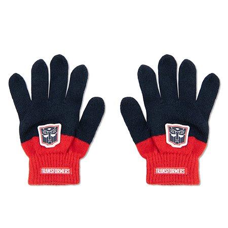 Перчатки Transformers синие